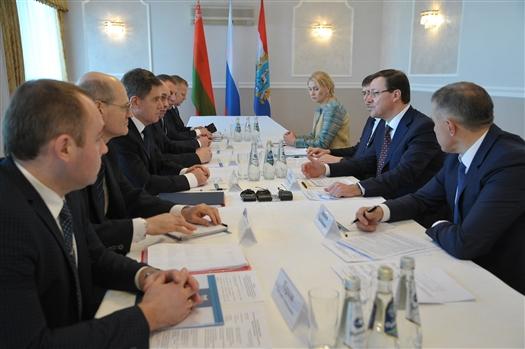 Перспективы сотрудничества Самарской области и Беларуси: от трамваев до наноспутников