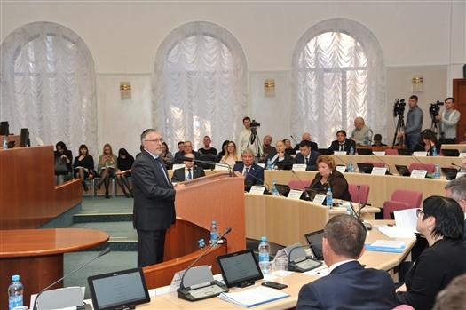 Бюджет Самарской области приняли в первом чтении