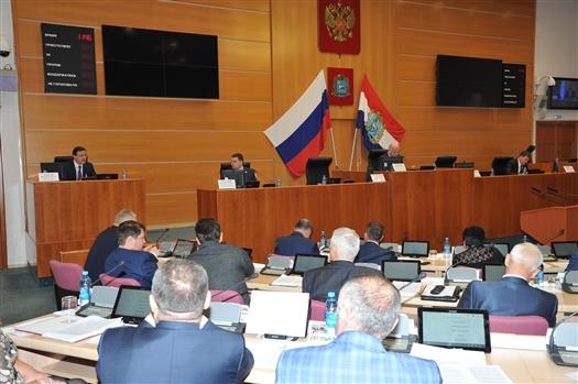 Дмитрий Азаров принял участие в пленарном заседании Самарской губдумы