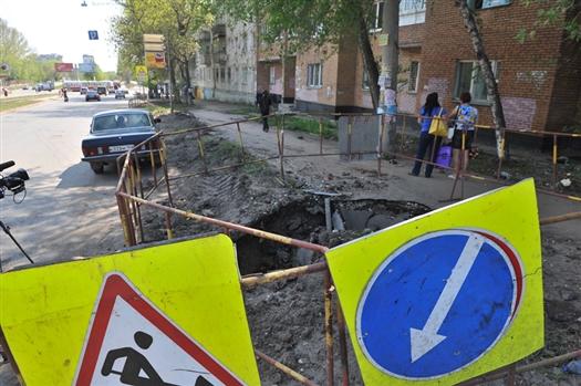Энергетики обещают компенсировать убытки жителям дома №78А по ул. Ново-Вокзальной в Самаре, чьи квартиры пострадали от порыва магистрального водовода