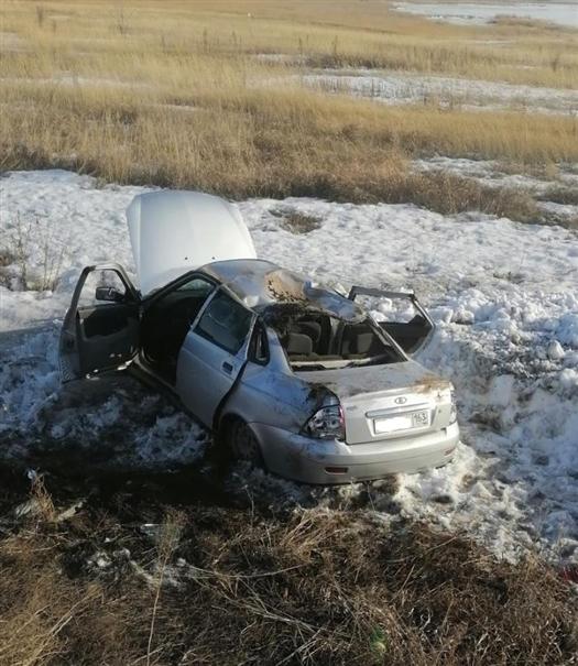 В ДТП в Сергиевском районе пострадали шесть человек