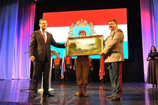 Дмитрий Азаров и Александр Даньшин обсудили создание в Самаре Дома юнармейцев