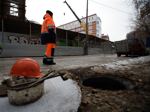 """В среду, 4 декабря, специалисты """"Самарских коммунальных систем"""" (СКС) произвели показательное отключение незаконных потребителей воды в исторической части города"""
