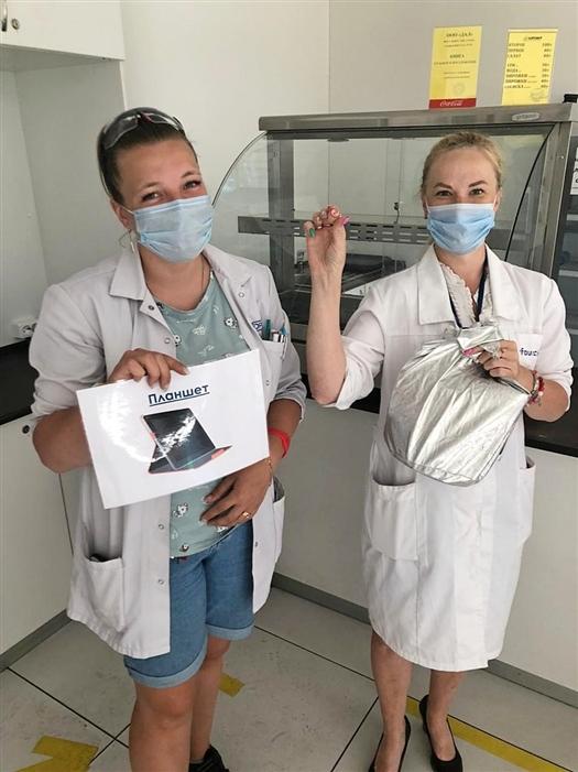 Форесия разыгрывает ценные призы среди вакцинированных сотрудников