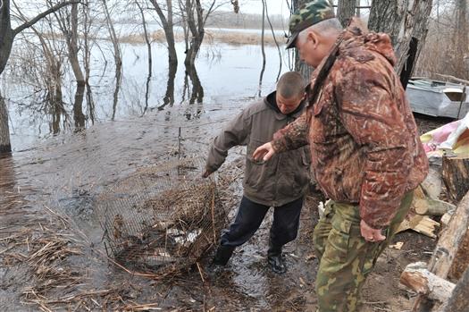 В первый день запрета на рыбалку в Самарской области у браконьеров изъяли около 200 кг рыбы