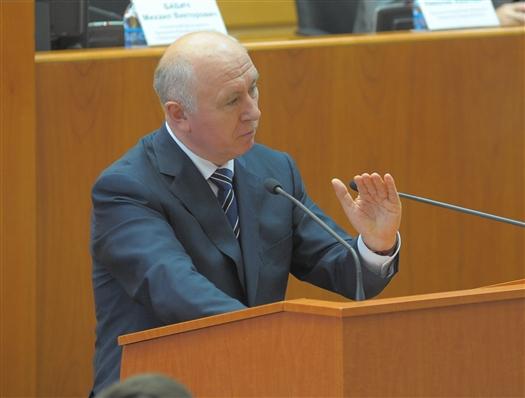 """""""Мы утверждали бюджет 100 млрд руб. с небольшим, а сейчас он составляет 121 млрд руб., - заявил Николай Меркушкин. - Все дополнительные средства в размере 19 млрд руб. направлены на созидательные цели"""""""