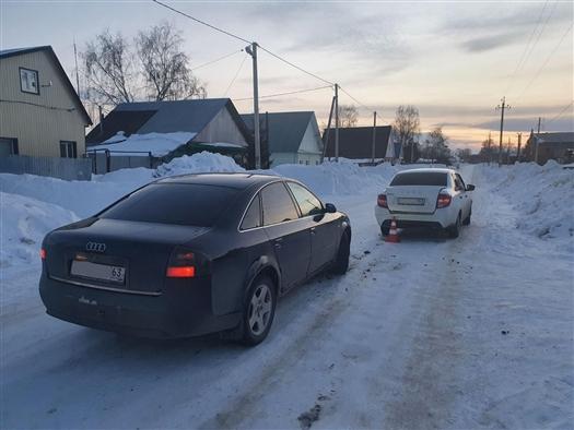 В Кинель-Черкасском районе госпитализирована 14-летняя девочка после ДТП