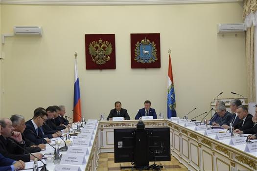 Игорь Комаров высоко оценил подготовку Самарской области к участию в реализации нацпроектов