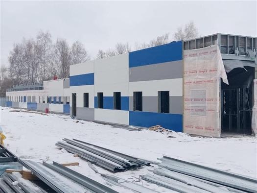 В Тольятти наполовину завершили установку металлоконструкций корпусов для пациентов с COVID-19