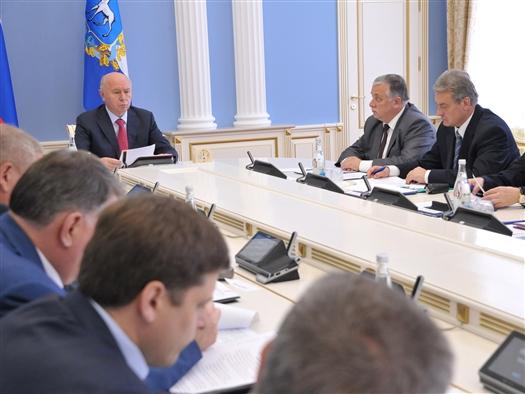 Николай Меркушкин поставил задачу обеспечить безопасность жителей региона 1 и 13 сентября