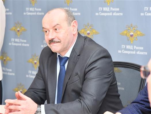 Александр Винников получил звание генерал-лейтенанта полиции