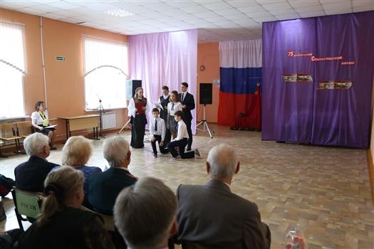 В самарской школе №129 отметили годовщину Сталинградской битвы