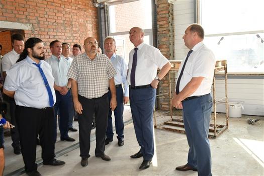 Николай Меркушкин раскритиковал проект ФОКа в селе Савруха