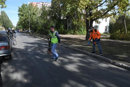 В Самаре отремонтировали дорогу на ул. Парижской Коммуны