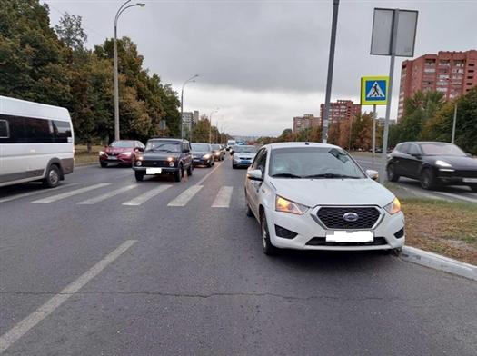 Тольяттинец сбил ребенка, ехавшего на самокате по пешеходному переходу