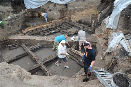Консервация археологического памятника на Хлебной площади в Самаре должна завершиться до 20 октября