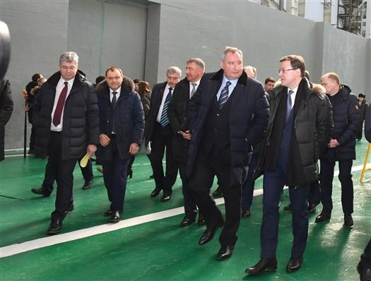 """Дмитрий Рогозин провел совещание на РКЦ """"Прогресс"""""""