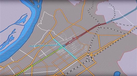 """Подготовлена визуализация проекта реконструкции магистрали """"Центральная"""""""