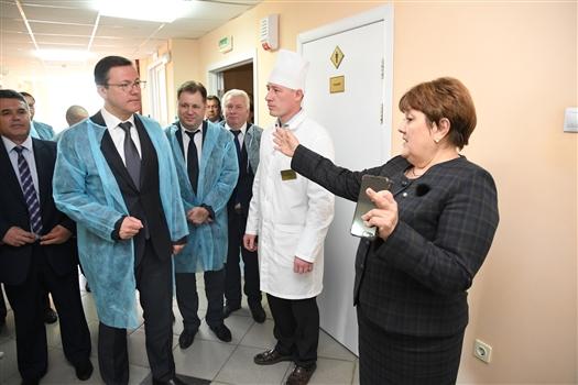 На базе Клявлинской ЦРБ построят межрайонное детское реабилитационное отделение
