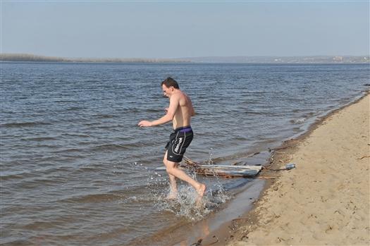 Роспотребнадзор: на всех пляжах Самары можно купаться