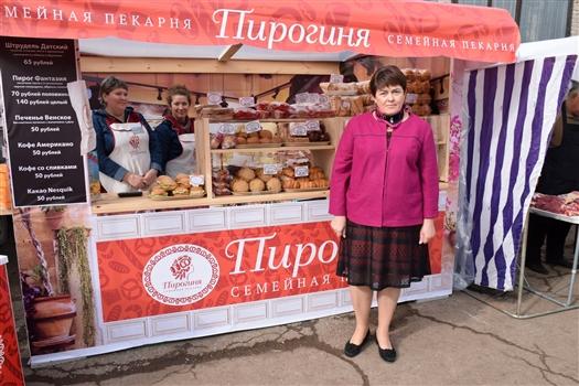 Директор Елена Очкурова на Поволжской агропромышленной выставке-2016