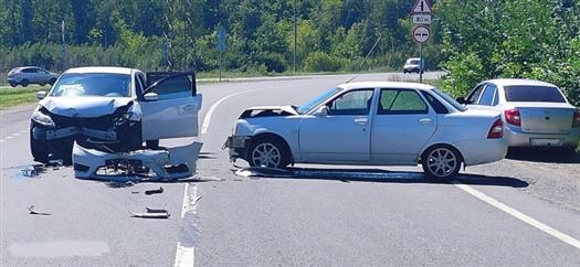 Два человека пострадали в ДТП на трассе Волжский — аэропорт Курумоч под Самарой