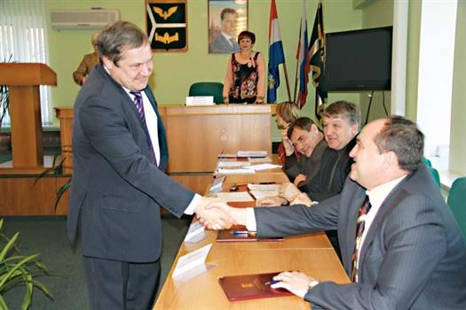 Александр Прокудин стал первым главой администрации, назначенным в этом году после выборов глав муниципальных образований из состава депутатов