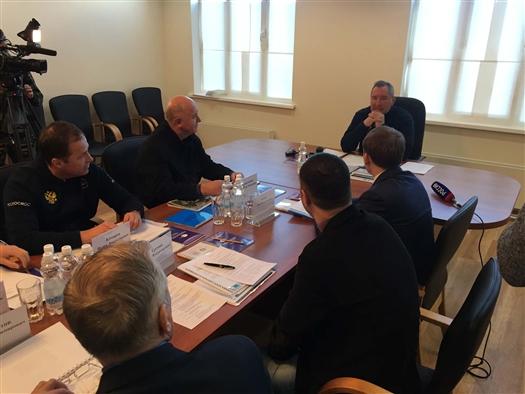 На космодроме Восточный в Амурской области прошло заседание наблюдательного совета СГАУ