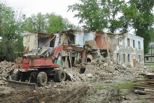 После утверждения новой программы развития застроенных территорий снос ветхих домов будет осуществляться комплексно