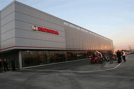 В октябре на 19 км Московского шоссе откроется автосалон Honda