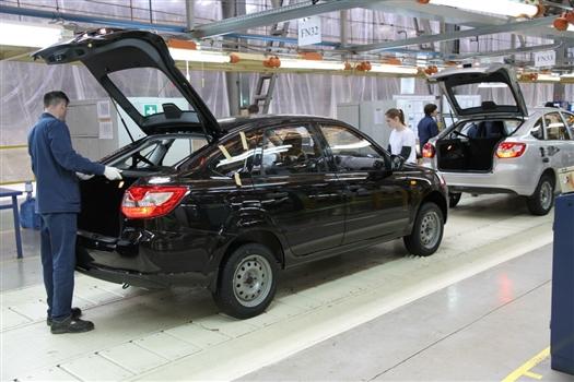 Производство Lada Granta лифтбек переносится из Ижевска в Тольятти