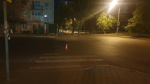 В Самаре водитель иномарки отвез сбитого пешехода в больницу
