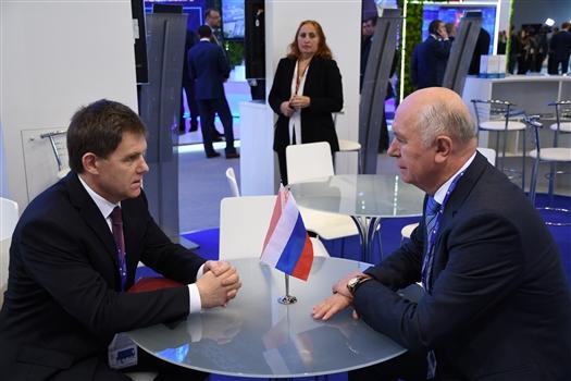 Николай Меркушкин обсудил с послом Беларуси перспективные направления сотрудничества