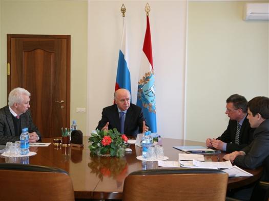 Во вторник, 5 марта, губернатор Николай Меркушкин провел совещание, посвященное вопросам развития спортивной инфраструктуры региона