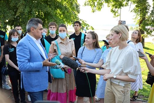 Интервью Алексея Нечаева областным СМИ