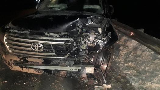 В Красноярском районе при столкновении двух иномарок пострадали четыре человека