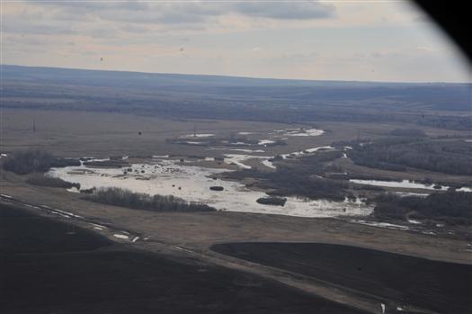 Росгидромет о паводке: водность рек и запасы снега выше, чем в 2017 году