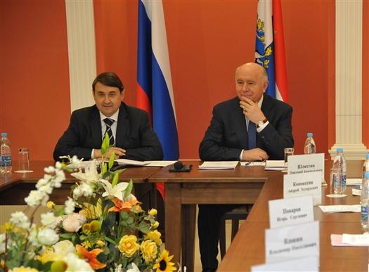 Губернатор принял участие в совещании по подготовке Совета при президенте России по развитию спорта