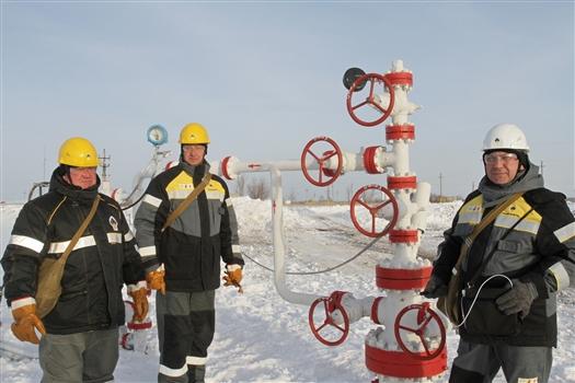Нефтяники на месторождении Самаранефтегаза
