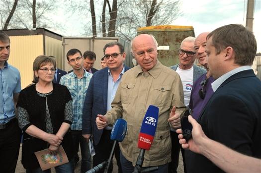 """Николай Меркушкин: """"В Тольятти появится новый спортивный кластер"""""""