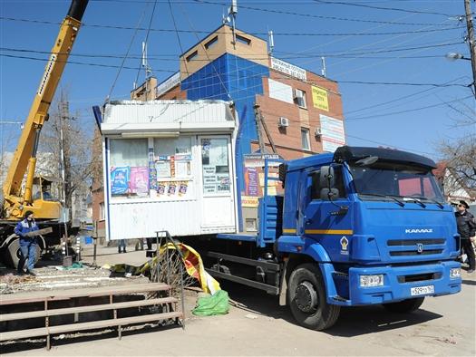 К 6 мая в Самарской области снесут 88 киосков, торгующих спиртным