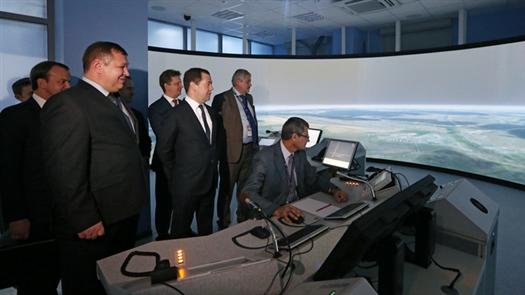 Дмитрий Медведев открыл новый терминал аэропорта Курумоч