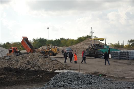 В Чапаевске капитально ремонтируют дорогу Самара - Волгоград - Чапаевск1