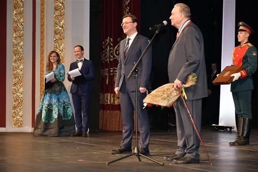 Борис Ремезенцев стал почетным гражданином Самарской области