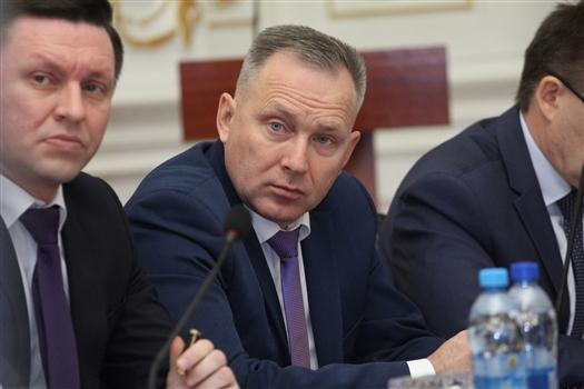 Новый глава департамента Олег Ивахин