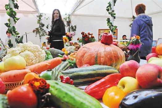 На ярмарке были и овощи по доступным ценам, и чудо-кролики с рекордными показателями привеса, и тыквы-рекордсменки весом до 50 кг