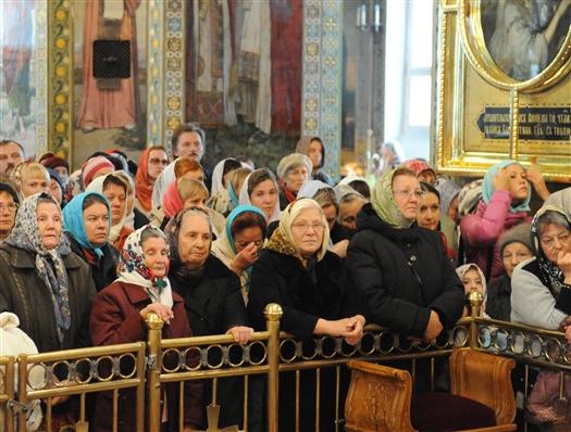 В Покровском кафедральном соборе состоялась главная пасхальная литургия губернии
