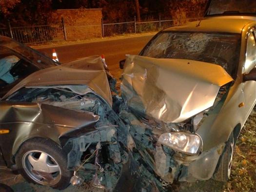 В Тольятти три человека пострадали в ДТП на Лесопарковом шоссе