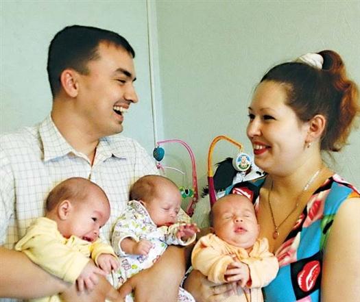 Супружеская жизнь - самая счастливая, полная и богатая, особенно если в ней есть долгожданные и любимые дети