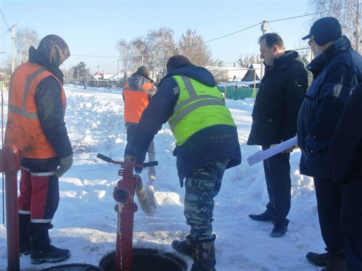 В Рождествено завершены работы по устройству дорог, водопровода и уличного освещения